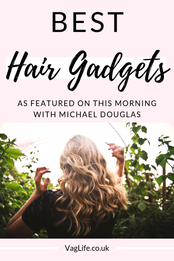 Best hair gadgets featured on This Morning with Michael Douglas