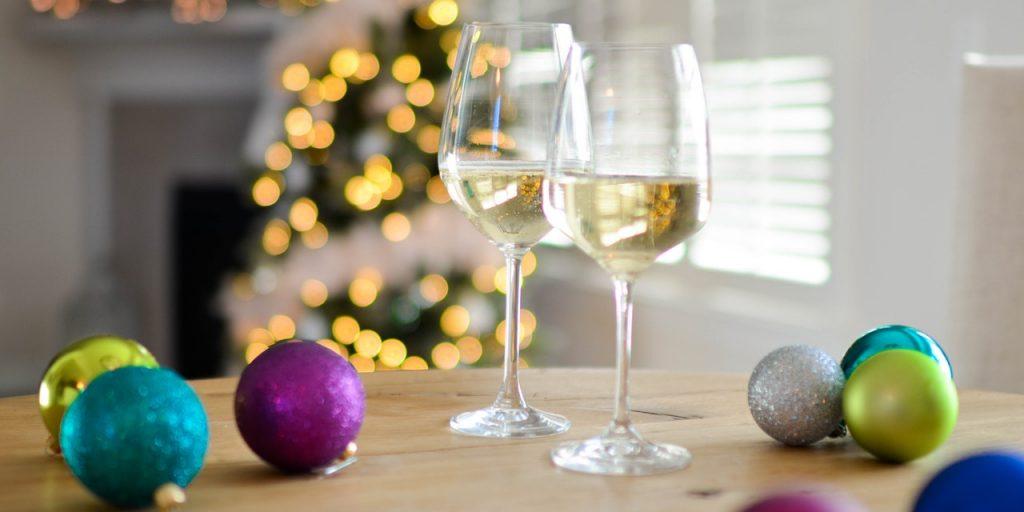 booze at christmas