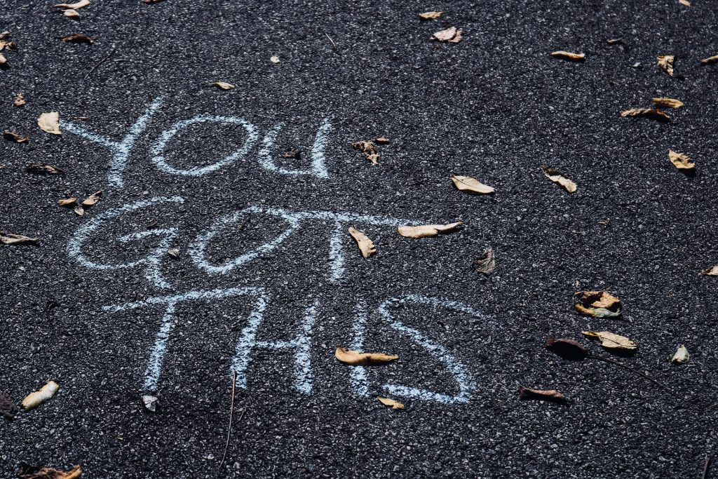 you got this writing on street