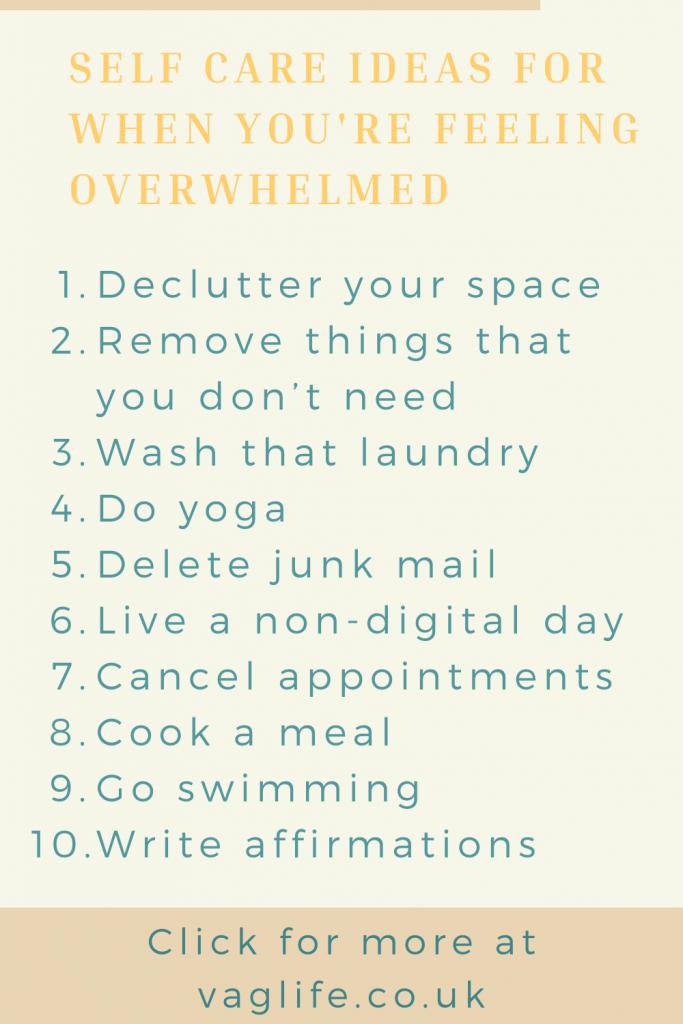 pin for feeling overwhelmed