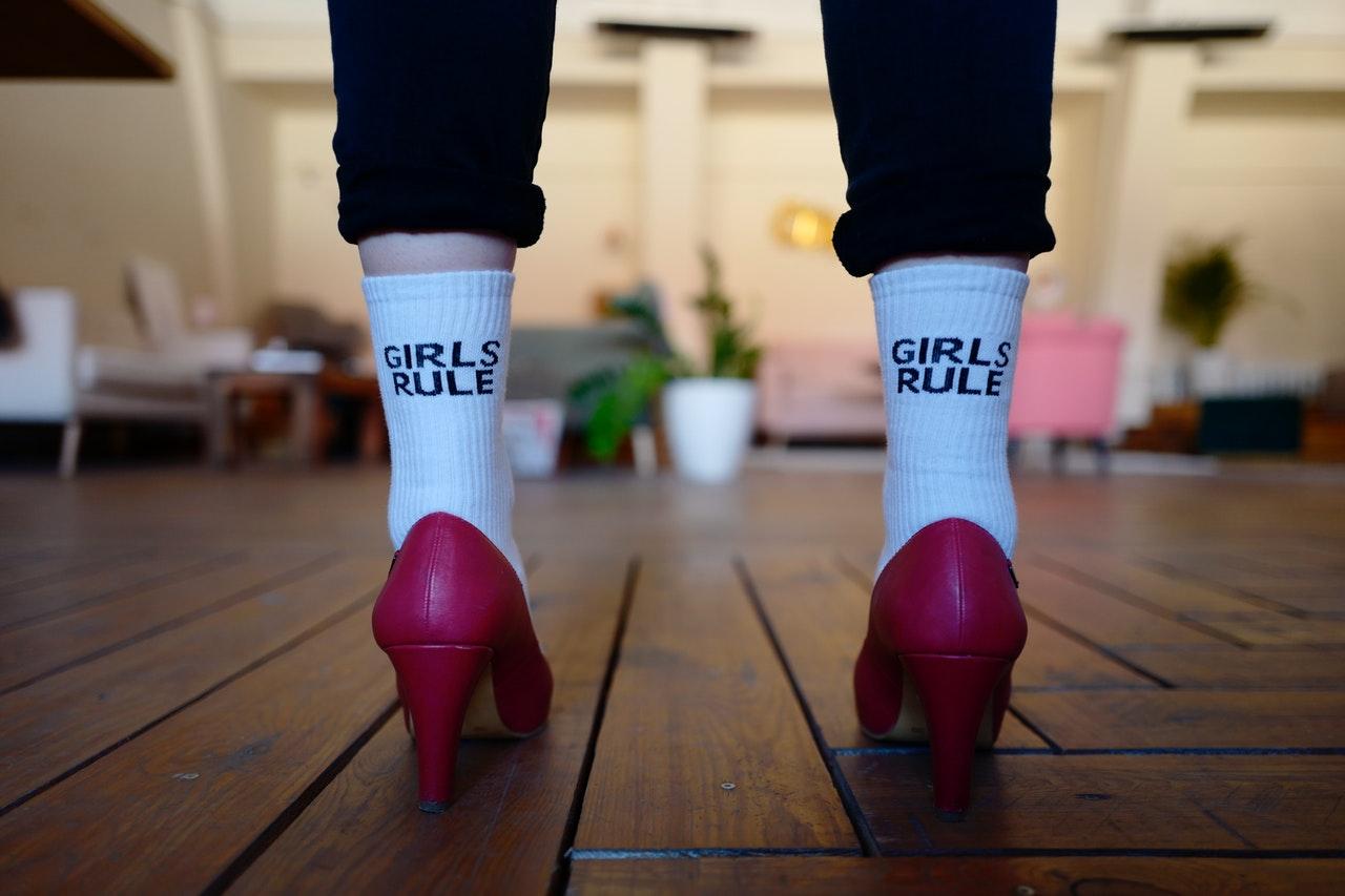 feminist gift socks